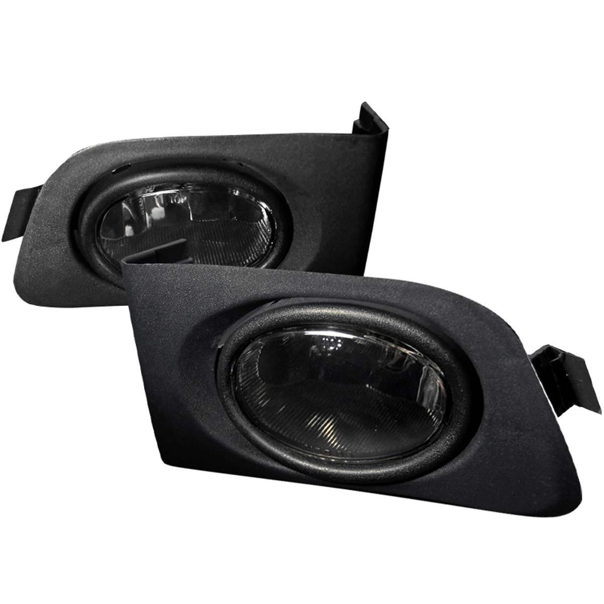 Spec-D Tuning LF-CV01GOEM - Spec-D 01-03 Honda Civic Oem Fog Lights