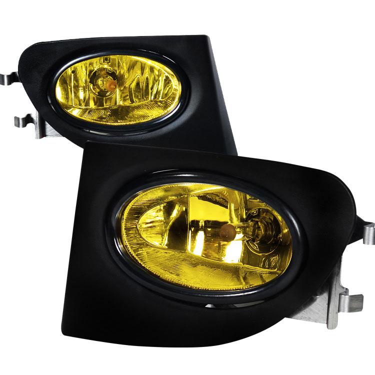 Spec-D Tuning LF-CV023AMOEM - Spec-D 02-05 Honda Civic 3d Si Oem Fog Lights
