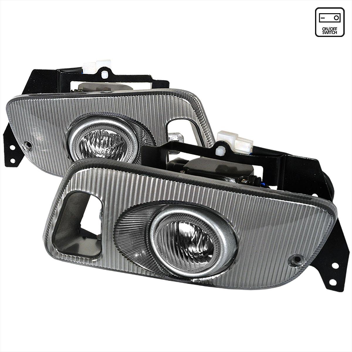 Spec-D Tuning LF-CV923OEM - Spec-D 92-95 Honda Civic 3dr Oem Foglights