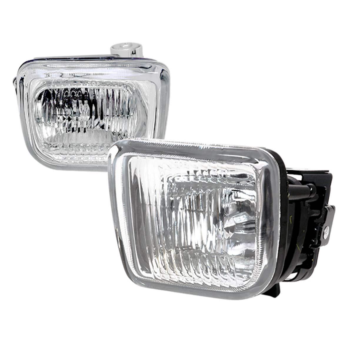 Spec-D Tuning LF-CV96COEM - Spec-D 96-98 Honda Civic Oem Clear Fog Lights