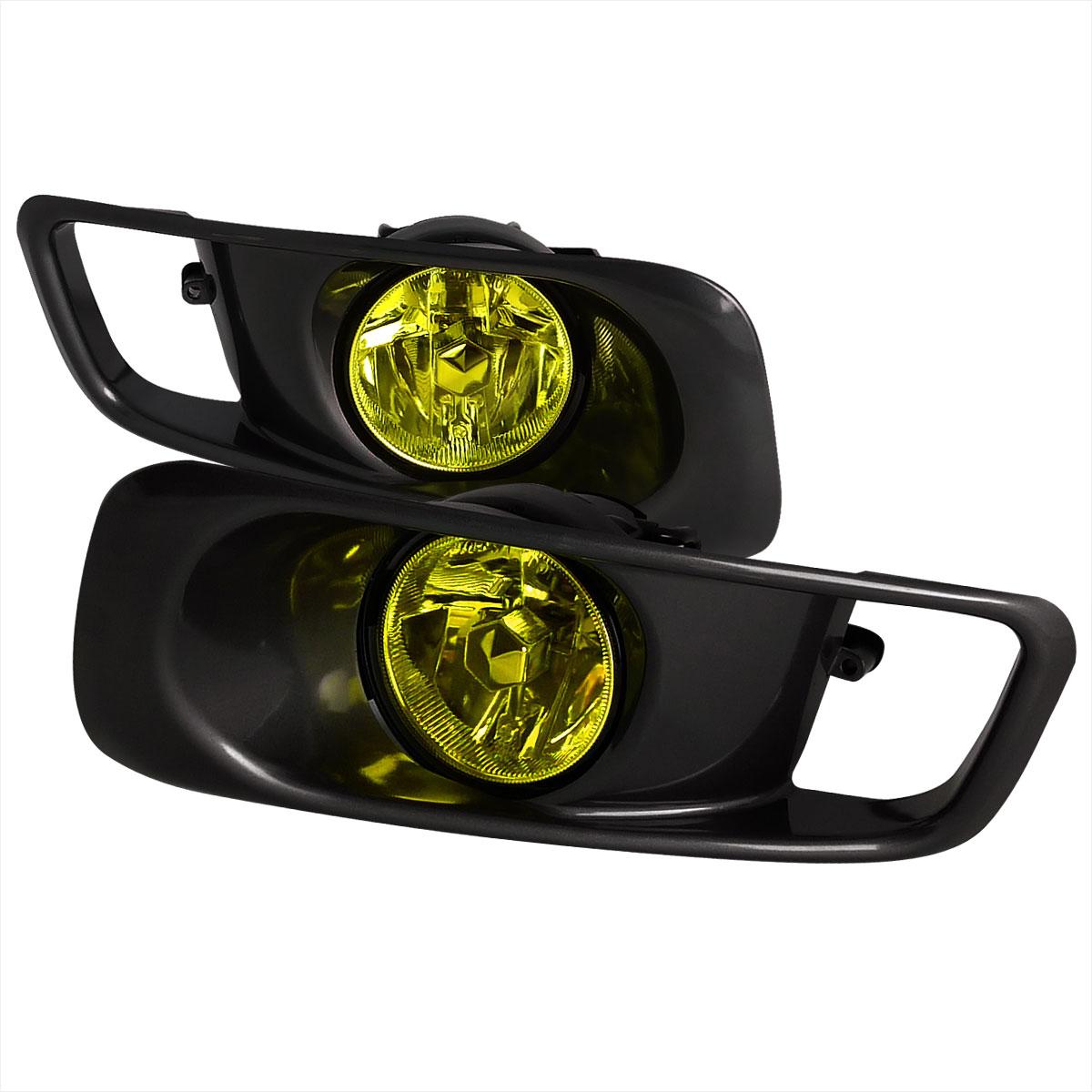 Spec-D Tuning LF-CV99AMOEM - Spec-D 99-00 Honda Civic Oem Fog Lights Yellow