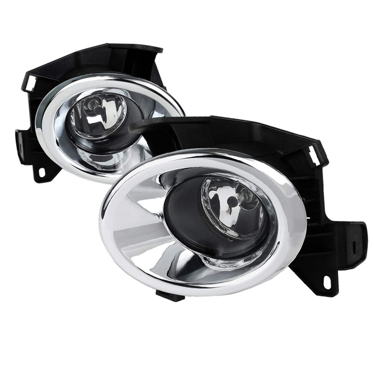 Spec-D Tuning LF-PATH13COEM-DL | Nissan Pathfinder Clear Fog Lights With  Wiring Kit; 2013-2013