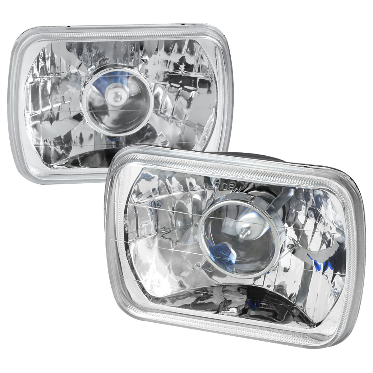 Spec-D Tuning LHP-7X6 - Spec-D 7 X6 projector Headlights