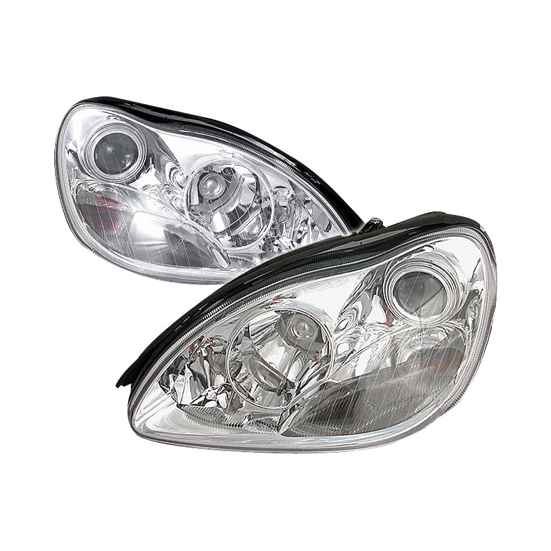 Spec D Tuning Lhp Bw22000 Ks Mercedes Benz W220 S Class Halo Projector Headlights Chrome 2000 2003
