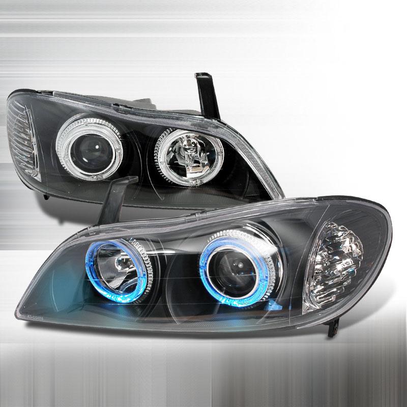 Spec-D Tuning LHP-I3000JM-KS - Spec-D 00-01 Infiniti I30 Projector Headlights