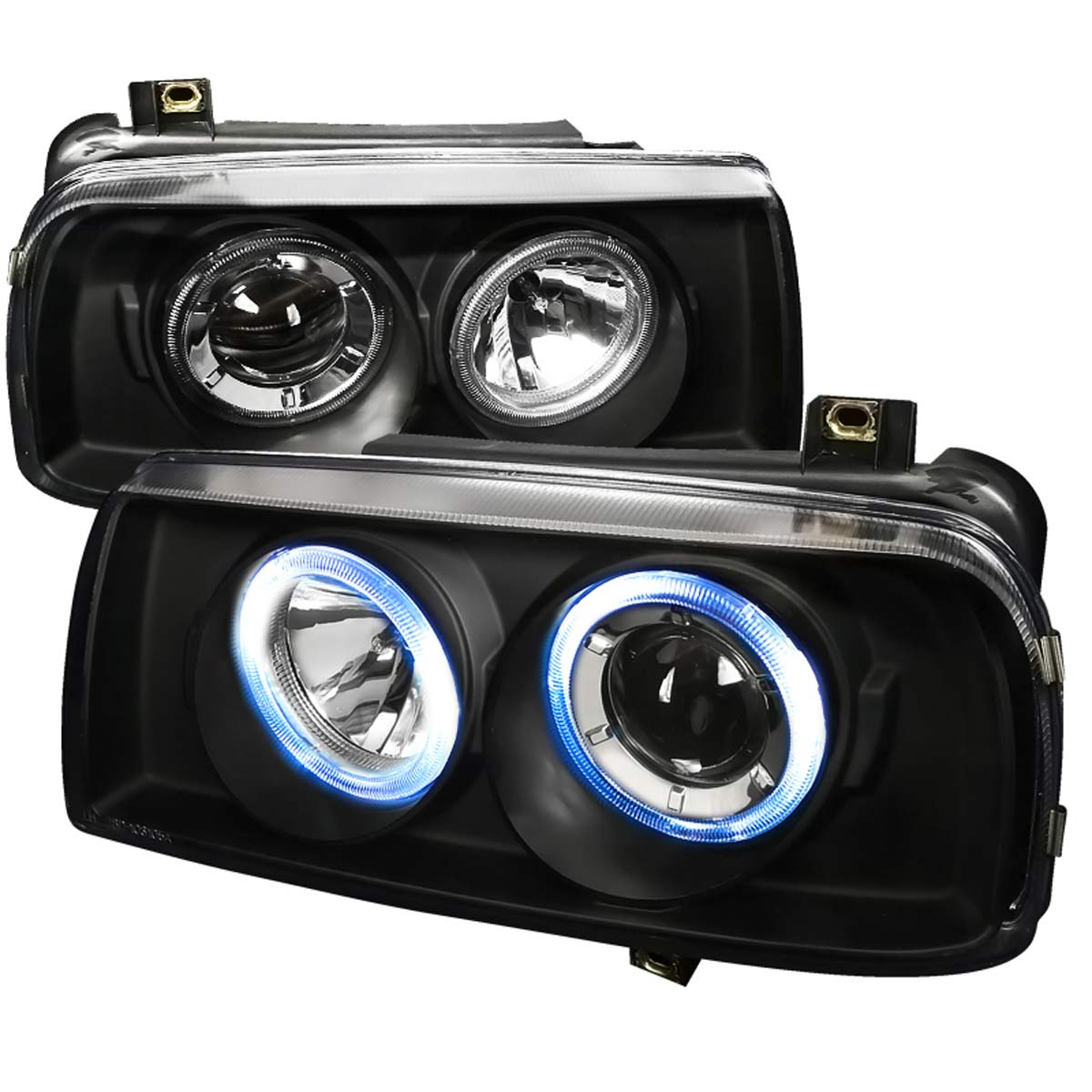 Spec-D Tuning LHP-JET93JM-APC - Spec-D 93-98 Vw Jetta 3 Projector Headlights