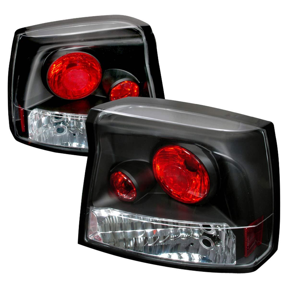 Spec-D Tuning LT-CHG05JM-TM - Spec-D 05-07 Dodge Charger Altezza Taillights (lt-chg05jm-tm)