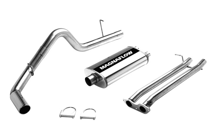 Magnaflow 15602 Exhaust System For Chevy GMC C1500k1500 57l Ec 78in Bed Single: 1994 K1500 Exhaust System At Woreks.co