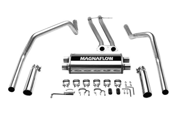 Magnaflow 15750 Exhaust System For Gm Chevy GMC C1500k1500 Dual Split Rear Exit 19961998: Magnaflow Dual Exhaust Kits For Chevy Silverado At Woreks.co