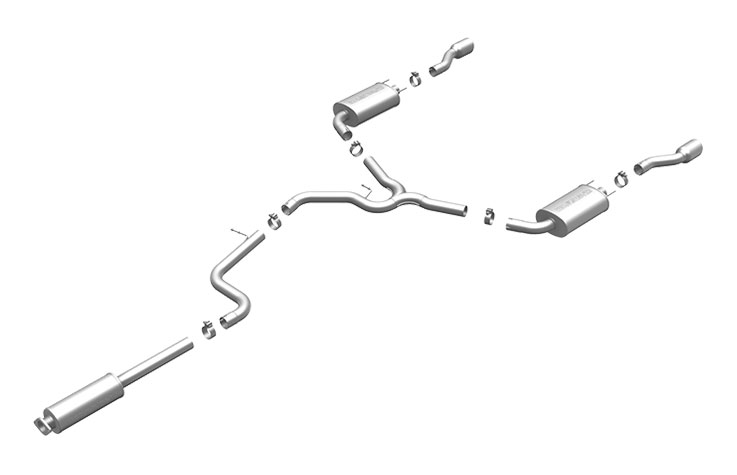 Magnaflow (16707) Exhaust System for IMPALA SS 2006-2007