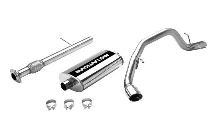 magnaflow 16722  exhaust system for gm suburban 1500 ls 5 3l 2007