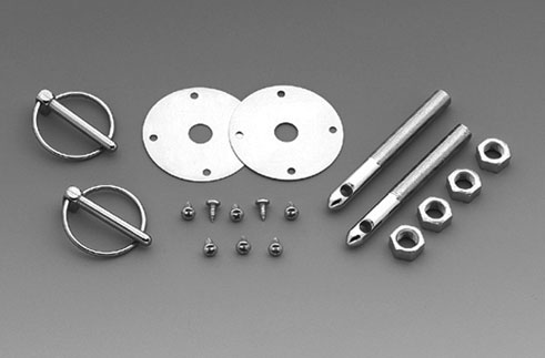 LMPerformance MG1017 - Hood Pin Kit - 7/16th Torsion Clip