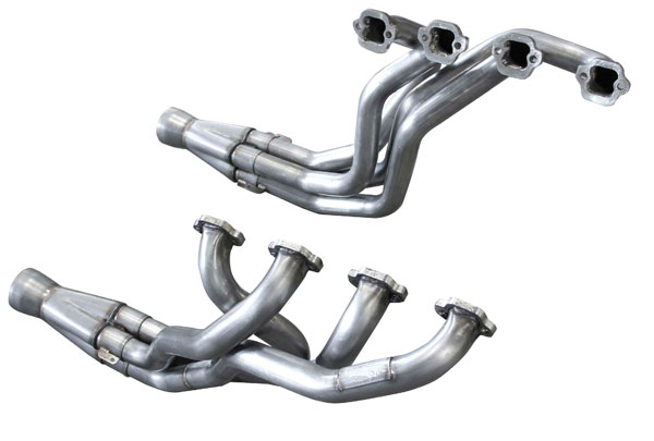 american racing headers msfx 4in x 3in header pair  1979