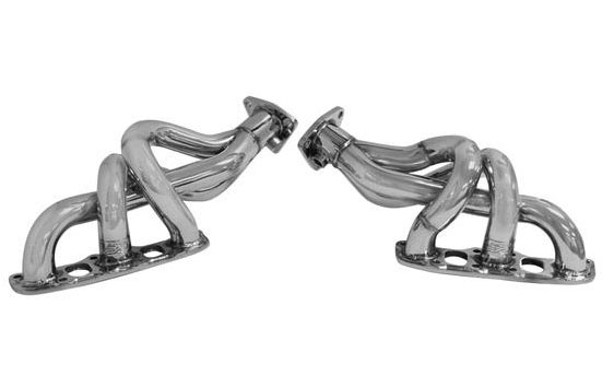 DC Sports NHS4202 | Nissan 350Z 3 5L Headers Polished 304 Stainless Steel