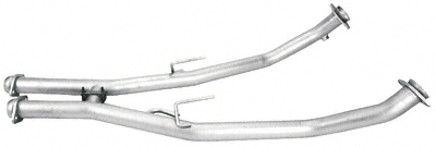Pacesetter 821110 - Pacesetter 2.5 inch Full Length H-pipe for 1986-93 Mustang 5.0 - Off Road
