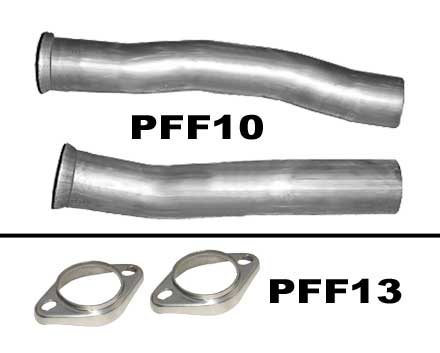 Pypes PFF13 - Pypes 2.5 flange stainless(each)