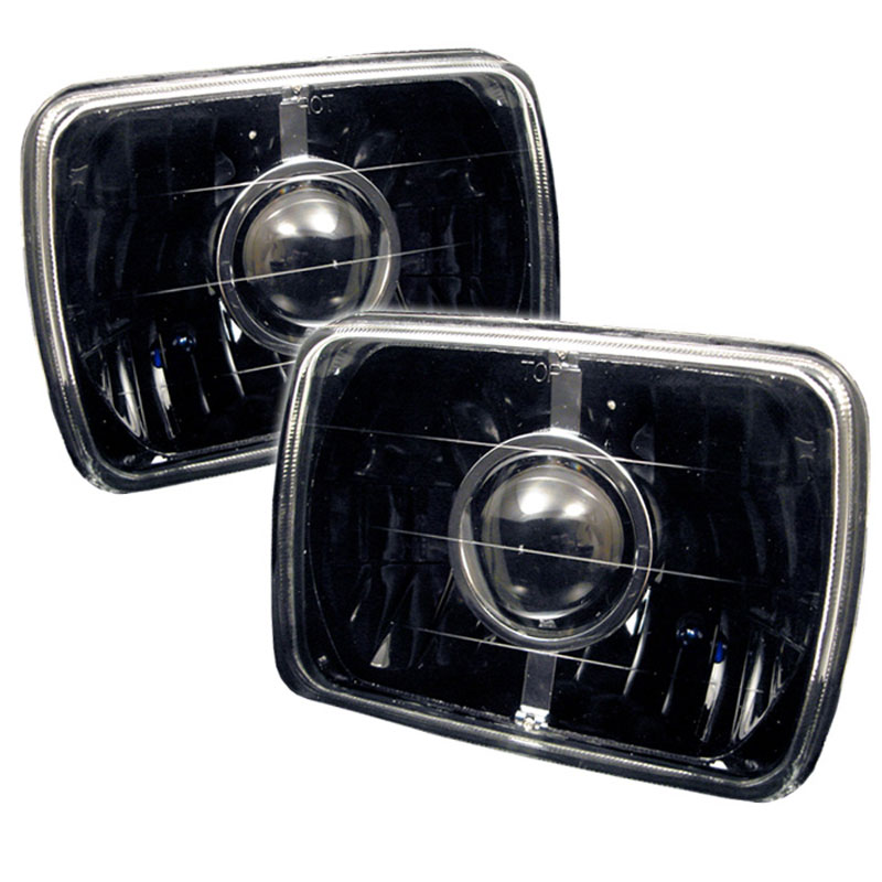 xTune PRO-CL-7X6-BK - xTune projector Headlights 7x6 - Black