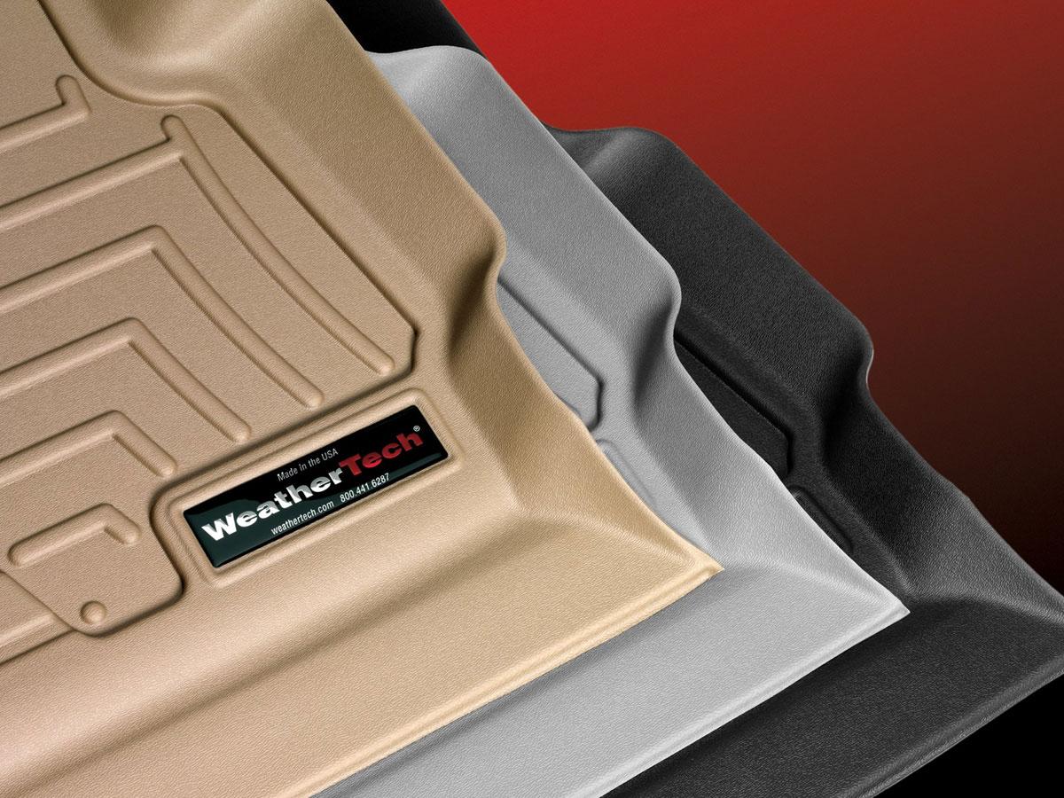 WeatherTech 445312 FloorLiner, Rear, Black
