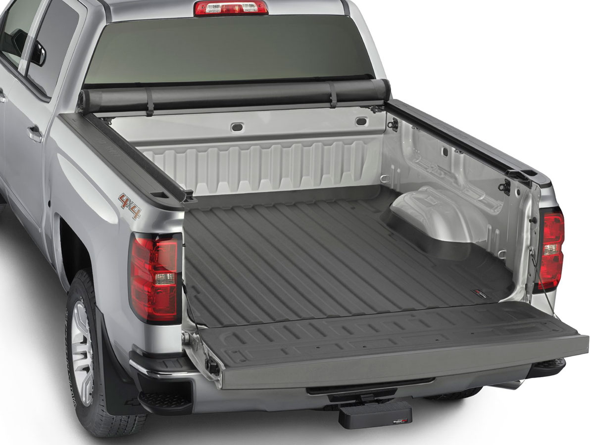 Weathertech 8rc1376 Roll Up Truck Bed Cover Ford F 150 Black 6