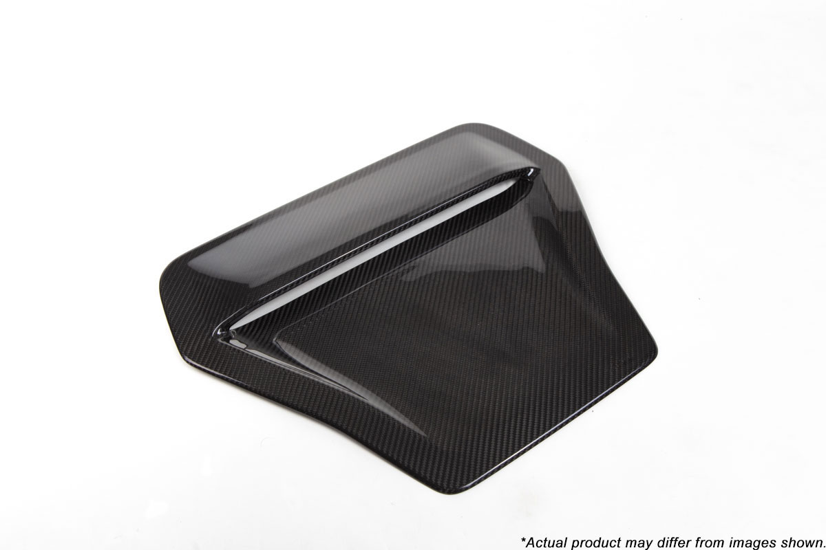 Revel 1tr4gt0ah10 Gt Dry Carbon Engine Hood Scoop Cover Honda Civic Type R 1 Pc 2017 2018