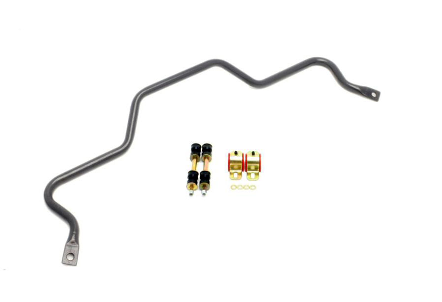 BMR Suspension SB003H | BMR Rear 25mm sway bar w/bushings, Camaro V8 / V6  Black Hammertone