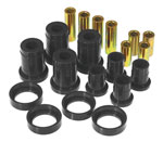 Prothane 84-88 Pontiac Fiero Front Control Arm Bushings - Black; 1984-1988