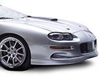 RKSport Competition SS Ram Air Hood Carbon Fiber Blister V8 / V6; 1998-2002
