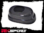 RKSport Cavalier Brake Reservoir Cover - Carbon Fiber; 1995-2005