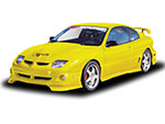 RKSport Sunfire Ground Effects Package - Sunfire non-GT; 2000-2002