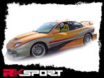 RKSport Sunfire 2-Dr Left Door Panel; 1995-2005