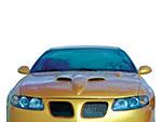 RKSport GTO Ram Air Hood; 2004-2006