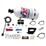 Nitrous Express GM LS 78mm 3-Bolt Nitrous Plate Kit (50-350HP) w/10lb Bottle; 0-0