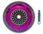 Exedy Hyper Triple Cerametallic Clutch Kit ACURA NSX V6 3.2; Req. Trans. Input Shaft; Sprung Disk; Pull type; 1997-2005