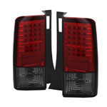 Spyder Scion XB 03-07 LED Tail Lights - Red Smoke
