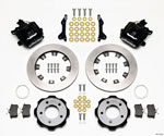 Wilwood Combination Parking Brake Rear Kit 12.19in 2006-Up Civic / CRZ; 2006-2021