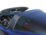 RKSport Corvette C6 Fiberglass Halo Cover; 2005-2013
