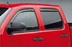 EGR 07+ Chev Silverado/GMC Sierra Ext Cab In-Channel Window Visors - Set of 4 (571501); 2007-2020
