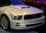 RKSport Mustang GTR Ram Air Hood V8; 2005-2009