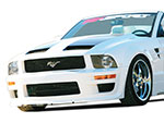 RKSport Mustang California Dream Ram Air Hood V8; 2005-2009