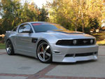 RKSport Mustang Ground Effects Package V8; 2010-2011