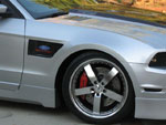 RKSport Mustang Carbon Inlay Fender (RIGHT SIDE) V8; 2010-2011