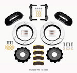Wilwood TX6R Front Kit 15.50in Black 2010-Up Ford F150 (6 lug); 2010-2021