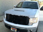 RKSport Ford F-150 Ram Air Hood; 2009-2014