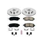 Power Stop 13-18 Nissan Altima Front Z23 Evolution Sport Brake Kit; 2013-2018