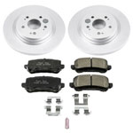Power Stop 18-19 Honda Odyssey Rear Z17 Evolution Geomet Coated Brake Kit; 2018-2019