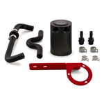 Mishimoto 2017+ Honda Civic Type R Baffled Oil Catch Can Kit - Red; 2017-2020