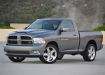 RKSport Dodge Ram 1500 Ram Air Hood; 2009-2015