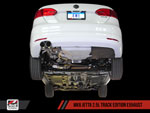 AWE Tuning VW Jetta SEL 2.5L MK6 Track Edition Exhaust - Diamond Black Tips; 2011-2013