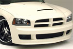 RKSPort Dodge Charger Ram Air Hood; 2005-2010