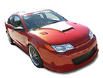 RKSport Saturn Ion Ram Air Hood; 2004-2010